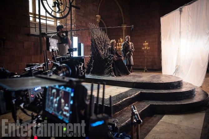 Il Trono di Spade: Lena Headey e Nikolaj Coster-Waldau sul set