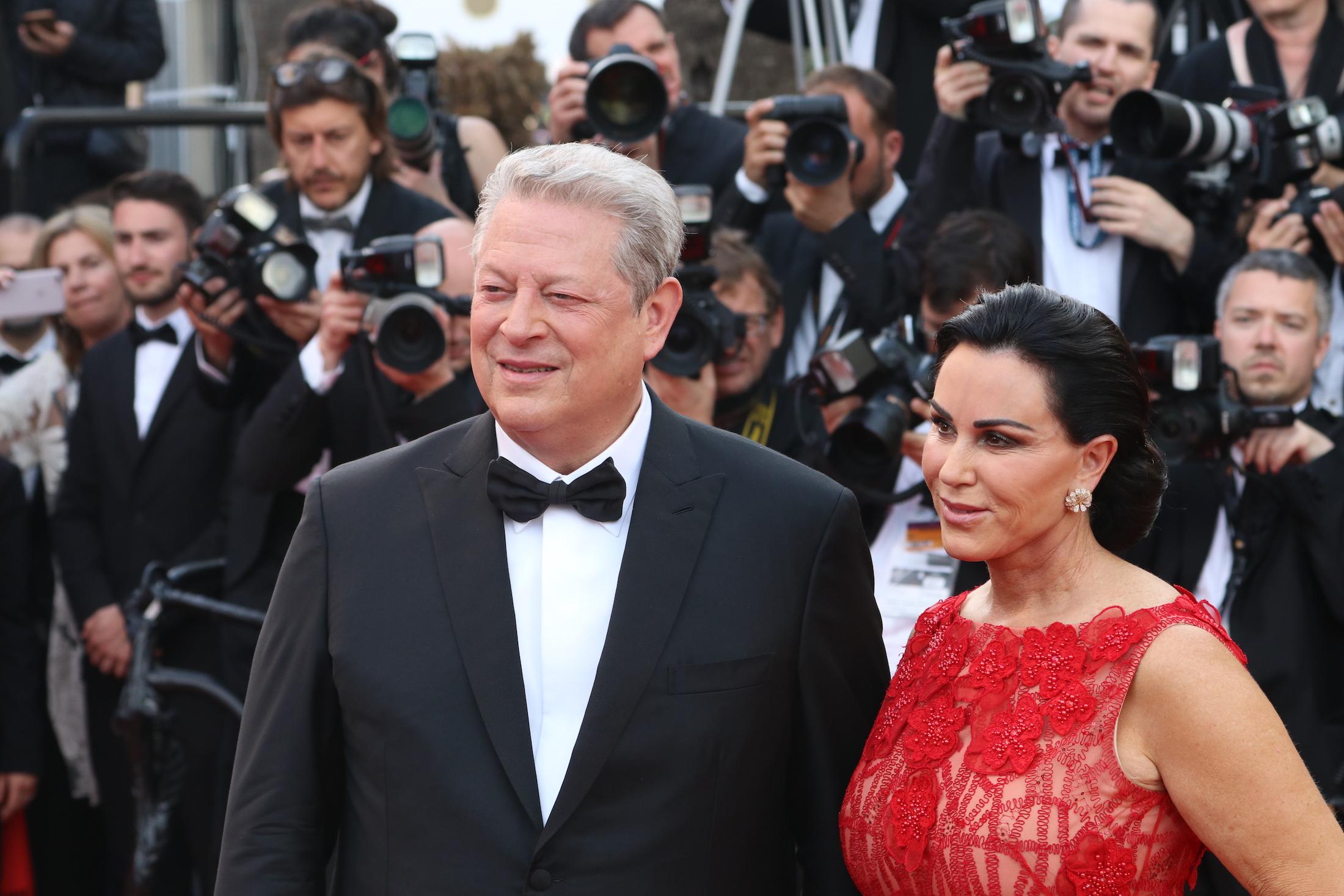 Cannes 2017: uno scatto di Al Gore sul red carpet di The Killing of a Sacred Deer