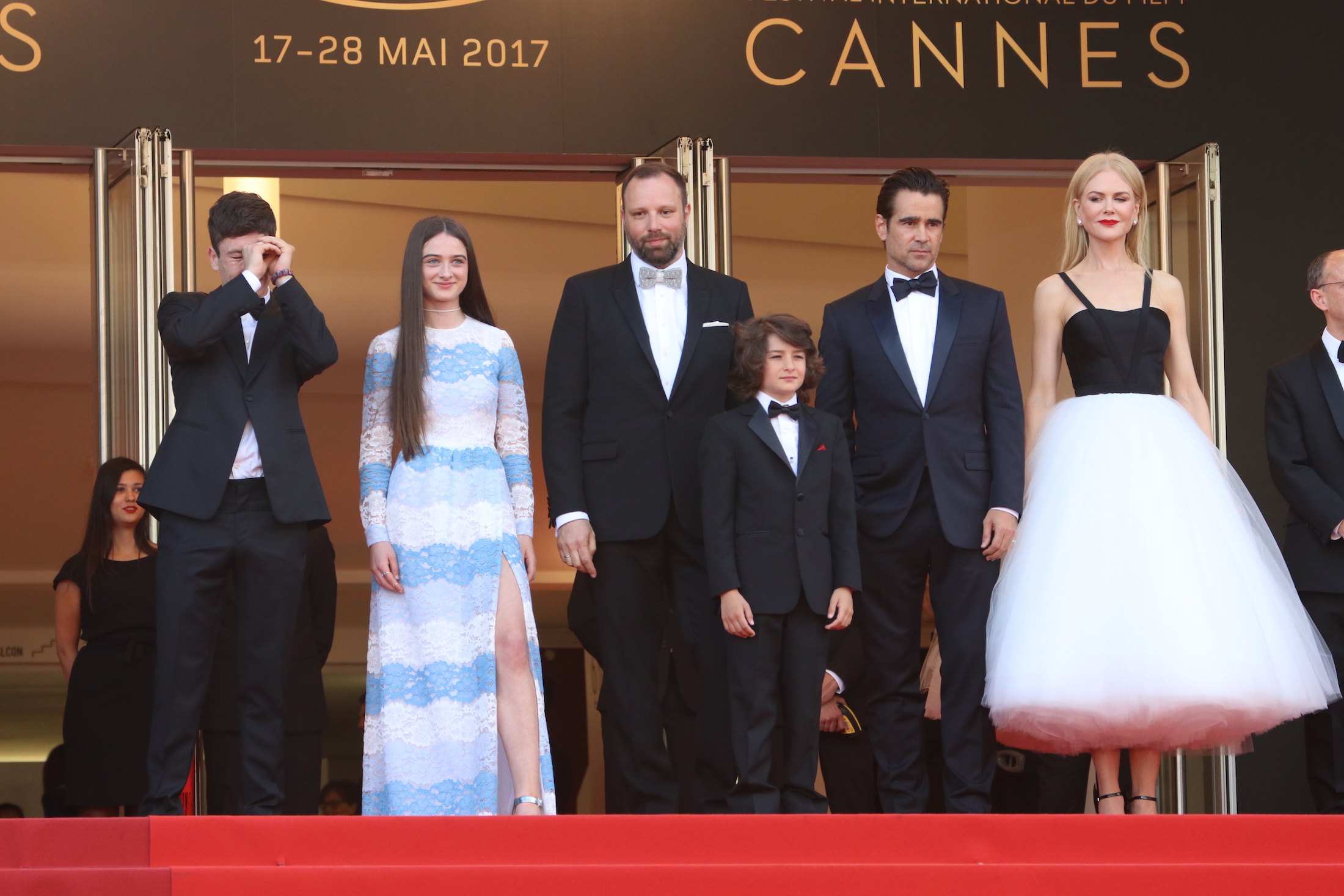 Cannes 2017: il cast sul red carpet di The Killing of a Sacred Deer