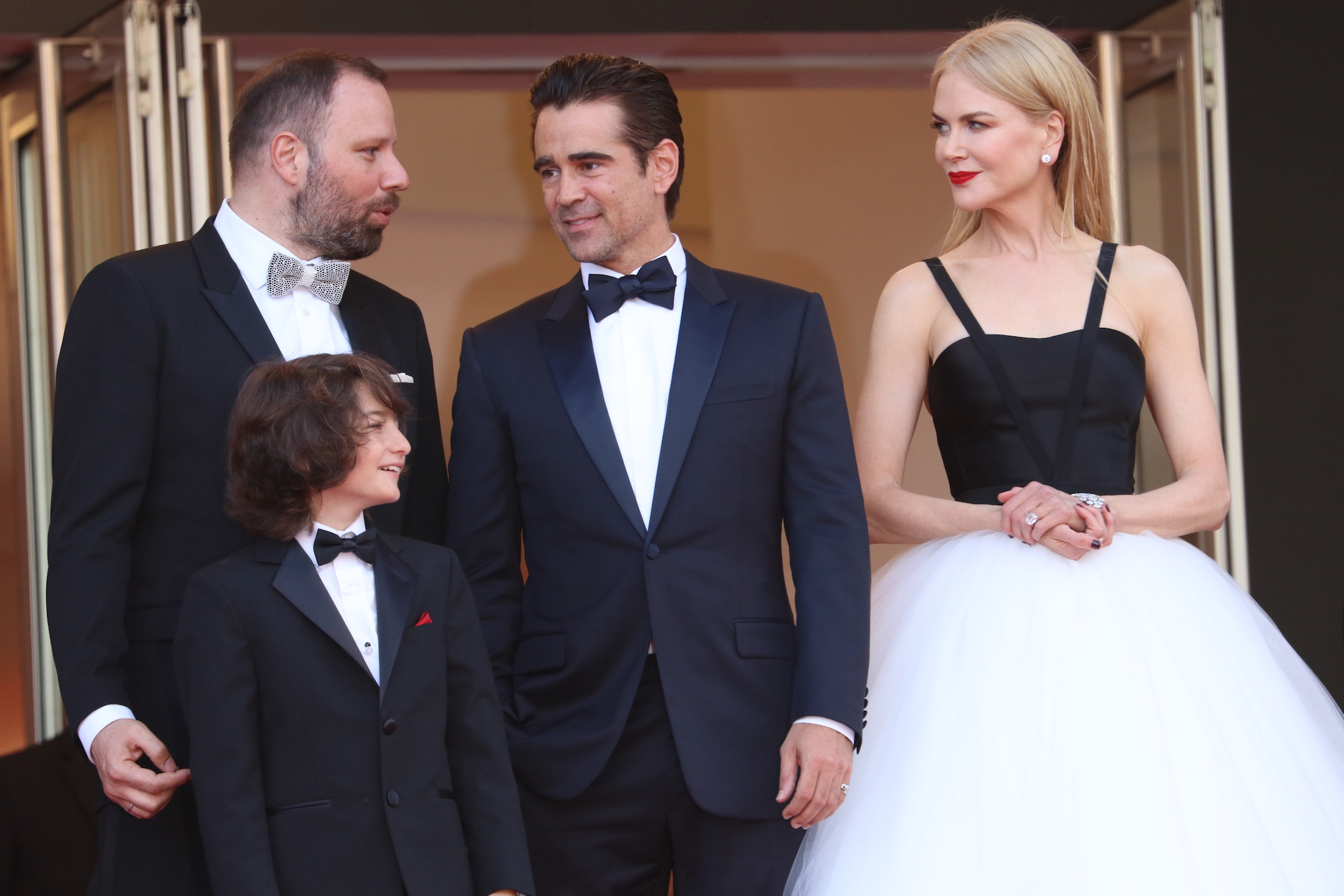 Cannes 2017: Nicole Kidman e Colin Farrel sul red carpet di The Killing of a Sacred Deer