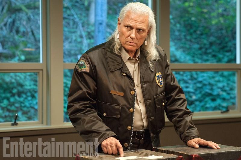 Twin Peaks: Michael Horse in una scena della terza stagione
