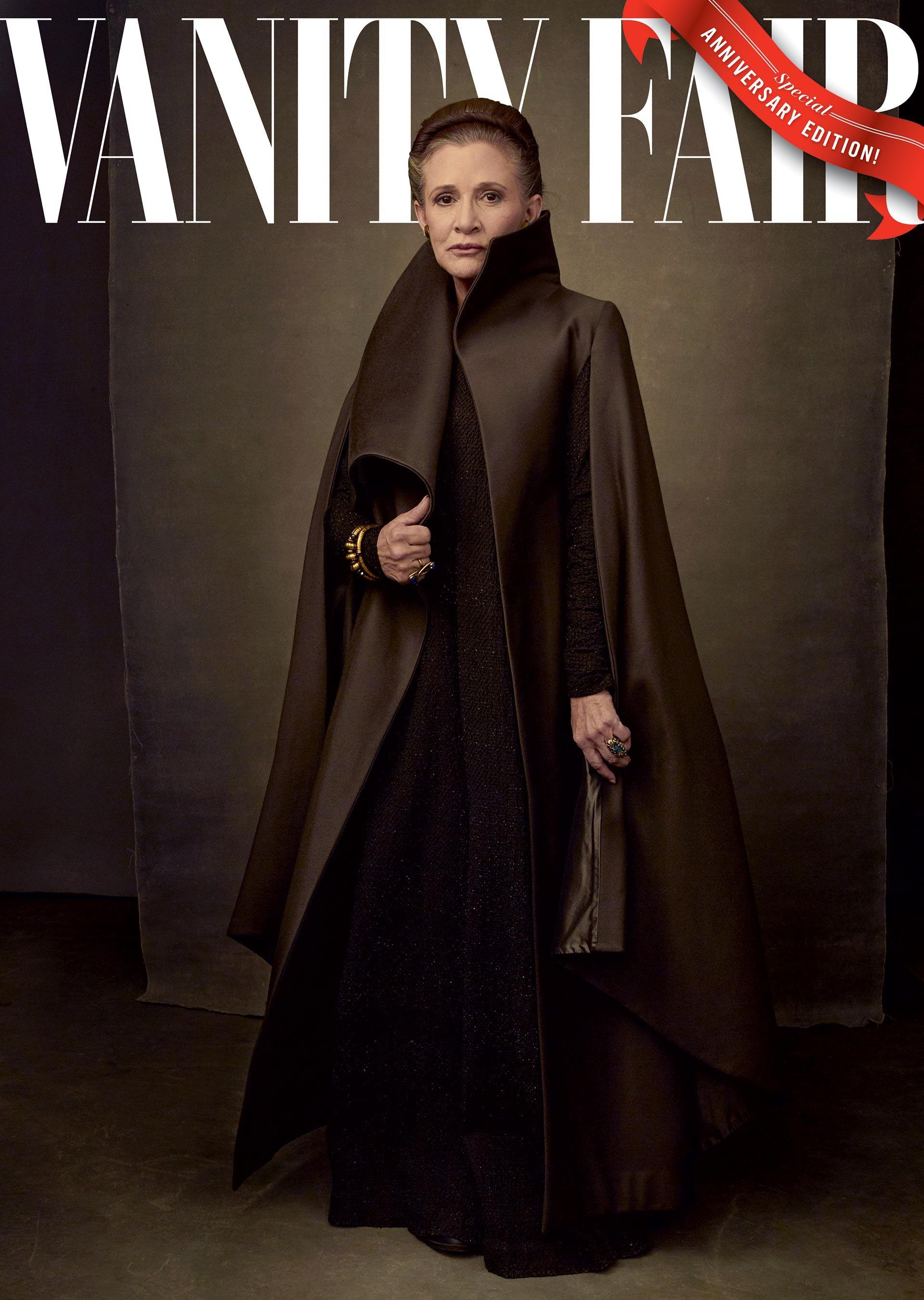 Gli ultimi Jedi: la copertina di Vanity Fair dedicata a Carrie Fisher