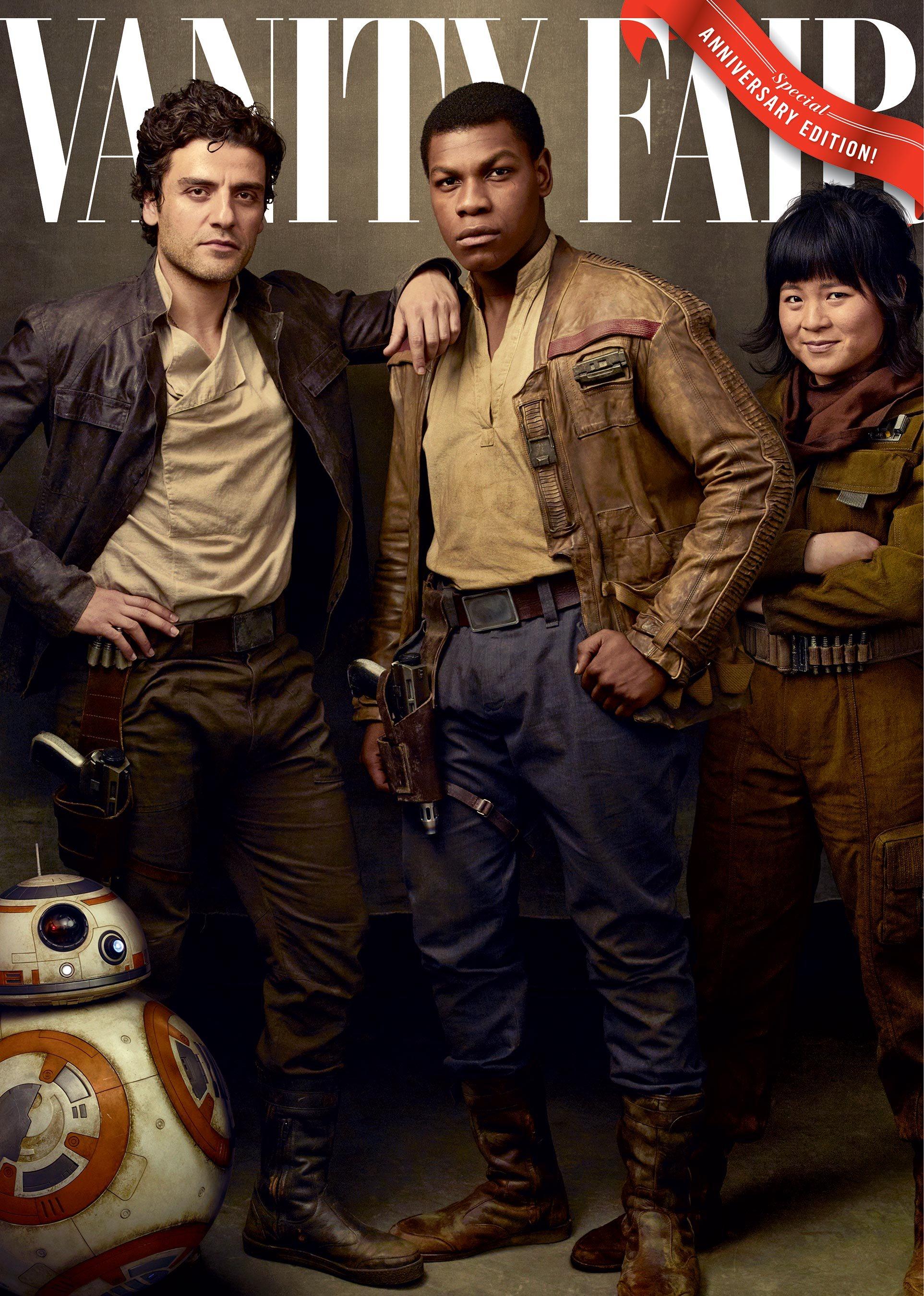 Gli ultimi Jedi: una delle copertine di Vanity Fair