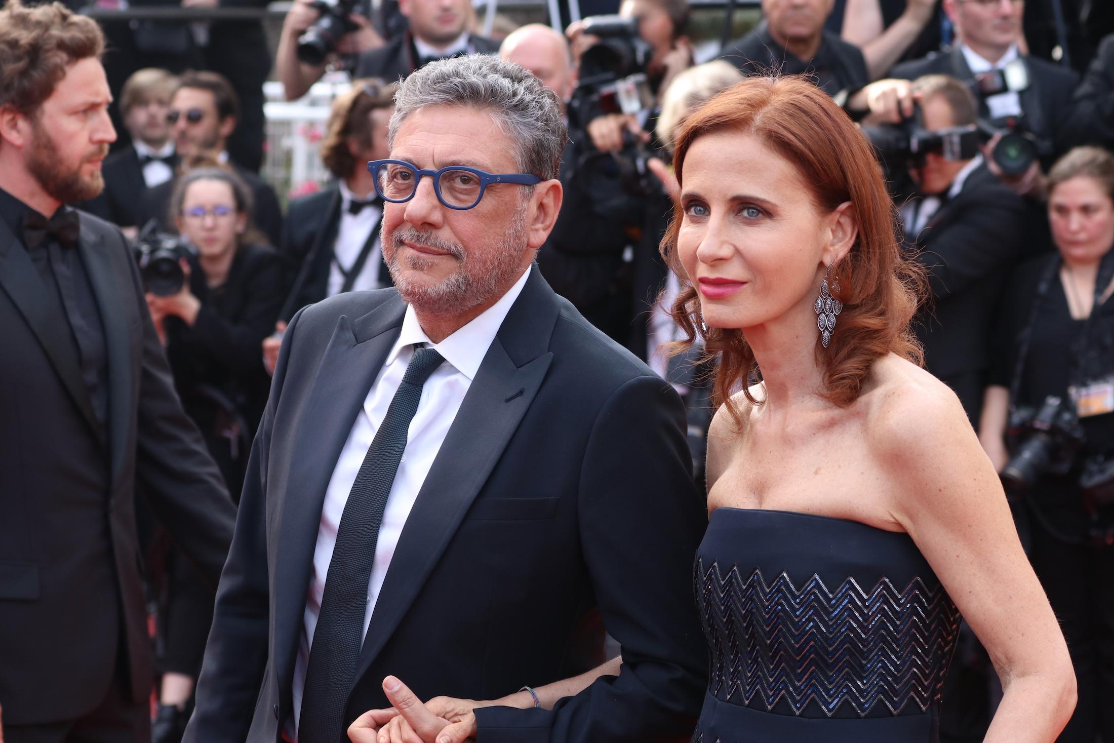 Cannes 2017: Sergio Castellitto insieme a Margaret Mazzantini sul red carpet per il settantesimo anno della manifestazione