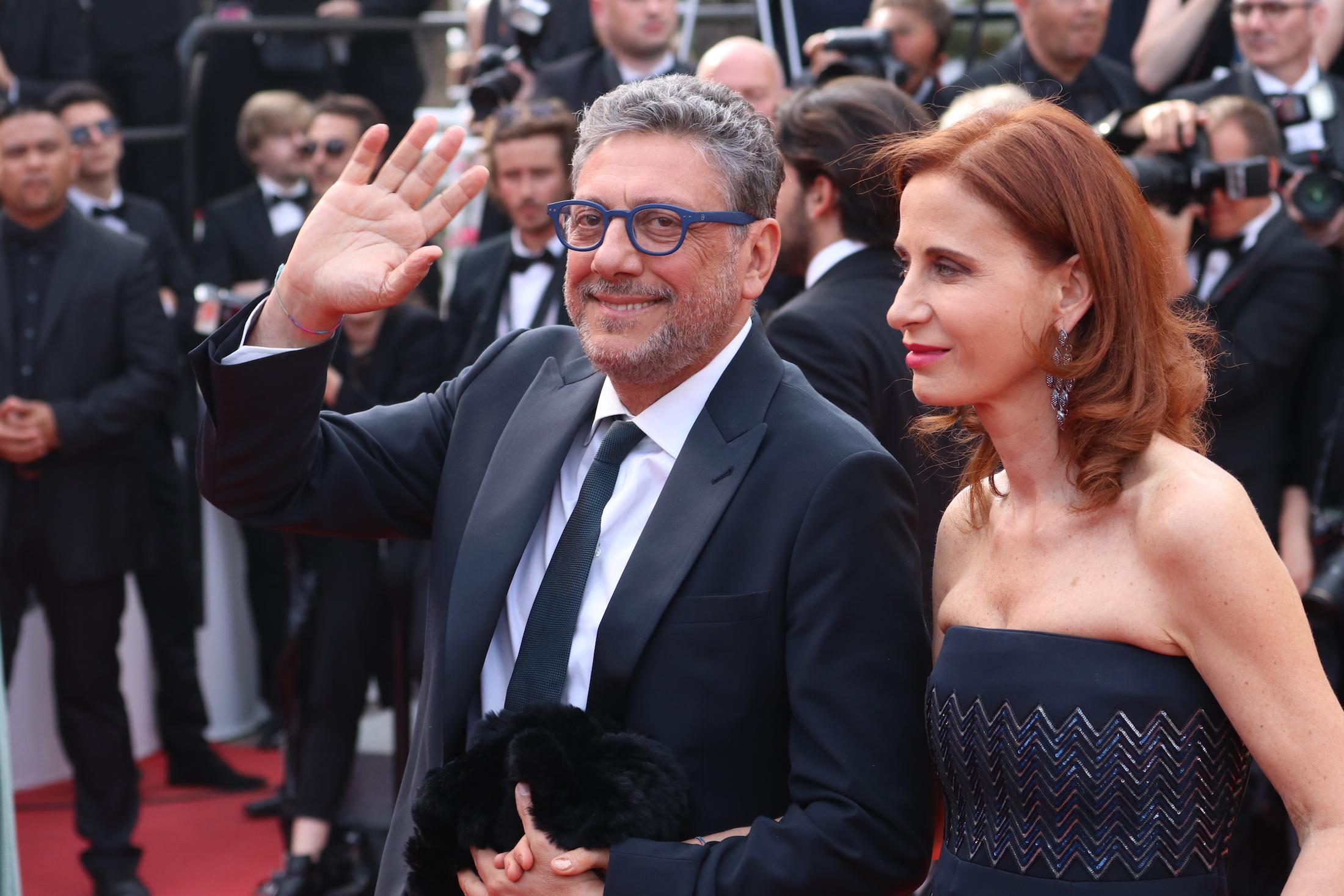 Cannes 2017: Sergio Castellitto e Margaret Mazzantini sul red carpet per il settantesimo anno della manifestazione