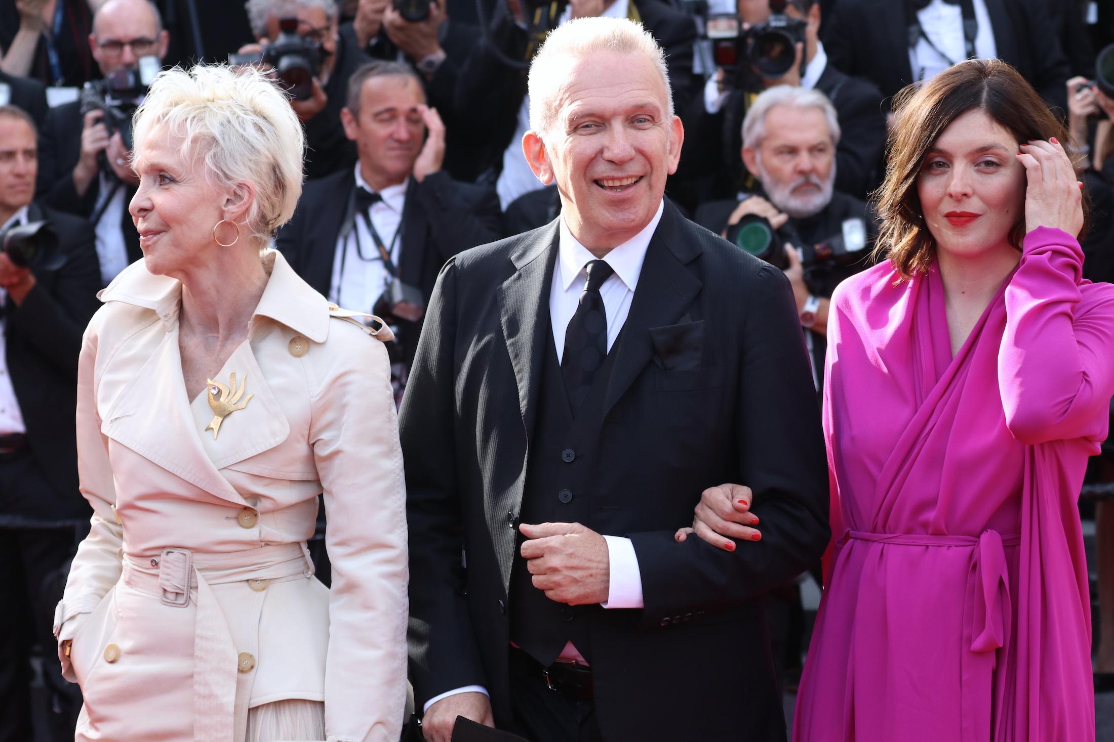 Cannes 2017: Jean Paul Gaultier sul red carpet per il settantesimo anno della manifestazione