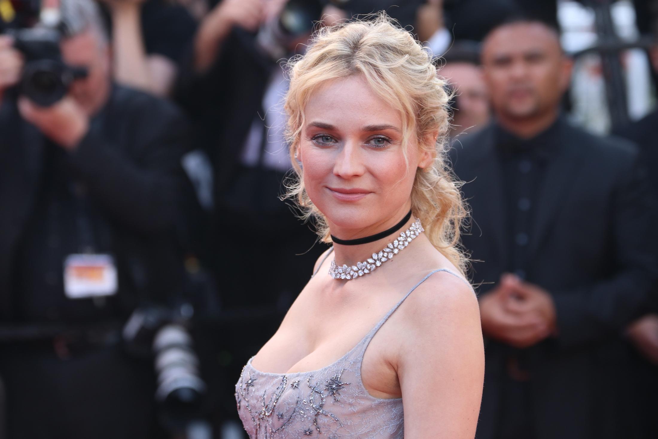Cannes 2017: Diane Kruger sul red carpet per il settantesimo anno della manifestazione