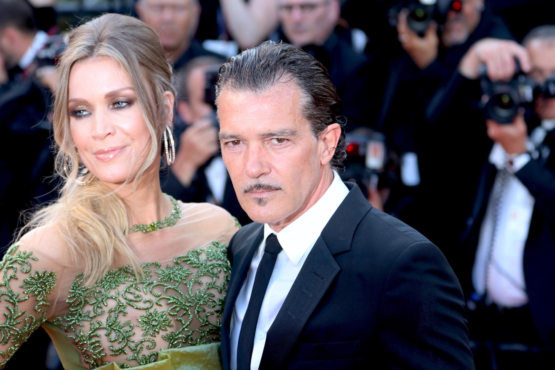 Cannes 2017: Antonio Banderas sul red carpet per il settantesimo anno della manifestazione