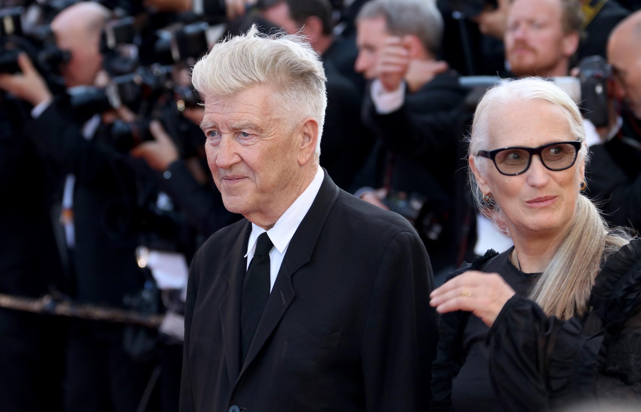 Cannes 2017: David Lynch e Jane Campion sul red carpet per il settantesimo anno della manifestazione