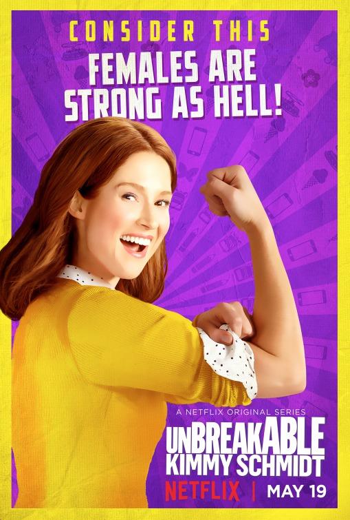 Unbreakable Kimmy Schmidt: la locandina della terza stagione