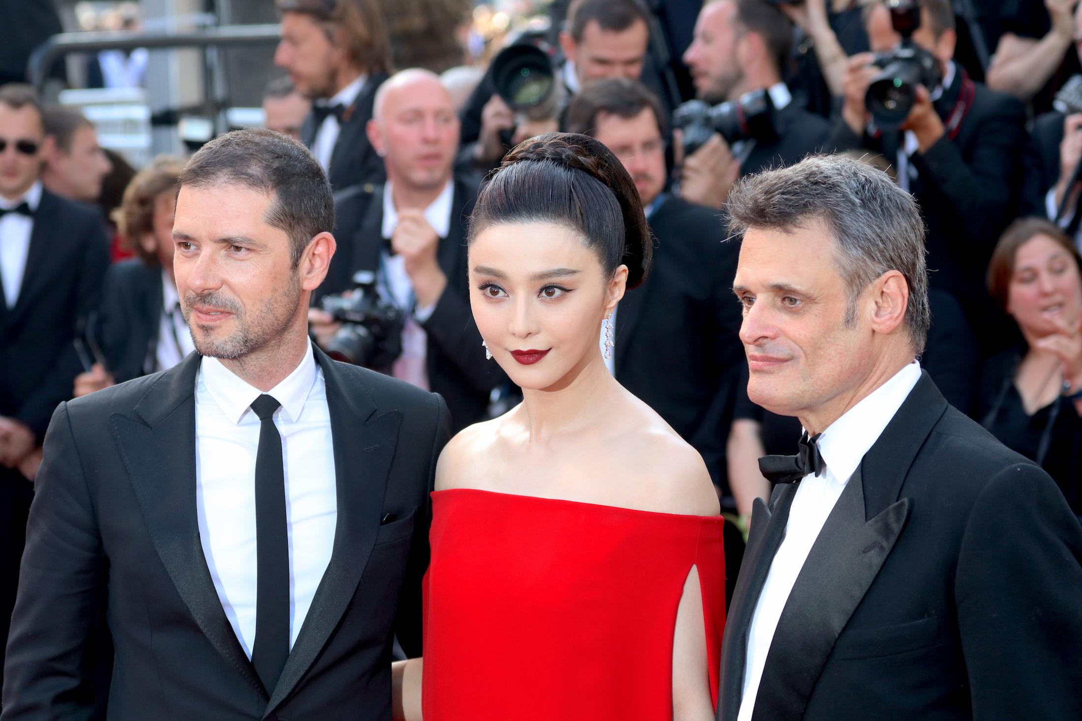 Cannes 2017: Fan BingBing sul red carpet de L'inganno