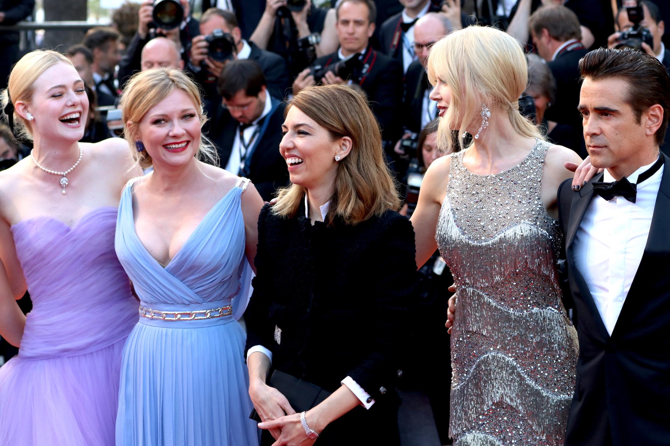 Cannes 2017: il cast de L'inganno sul red carpet