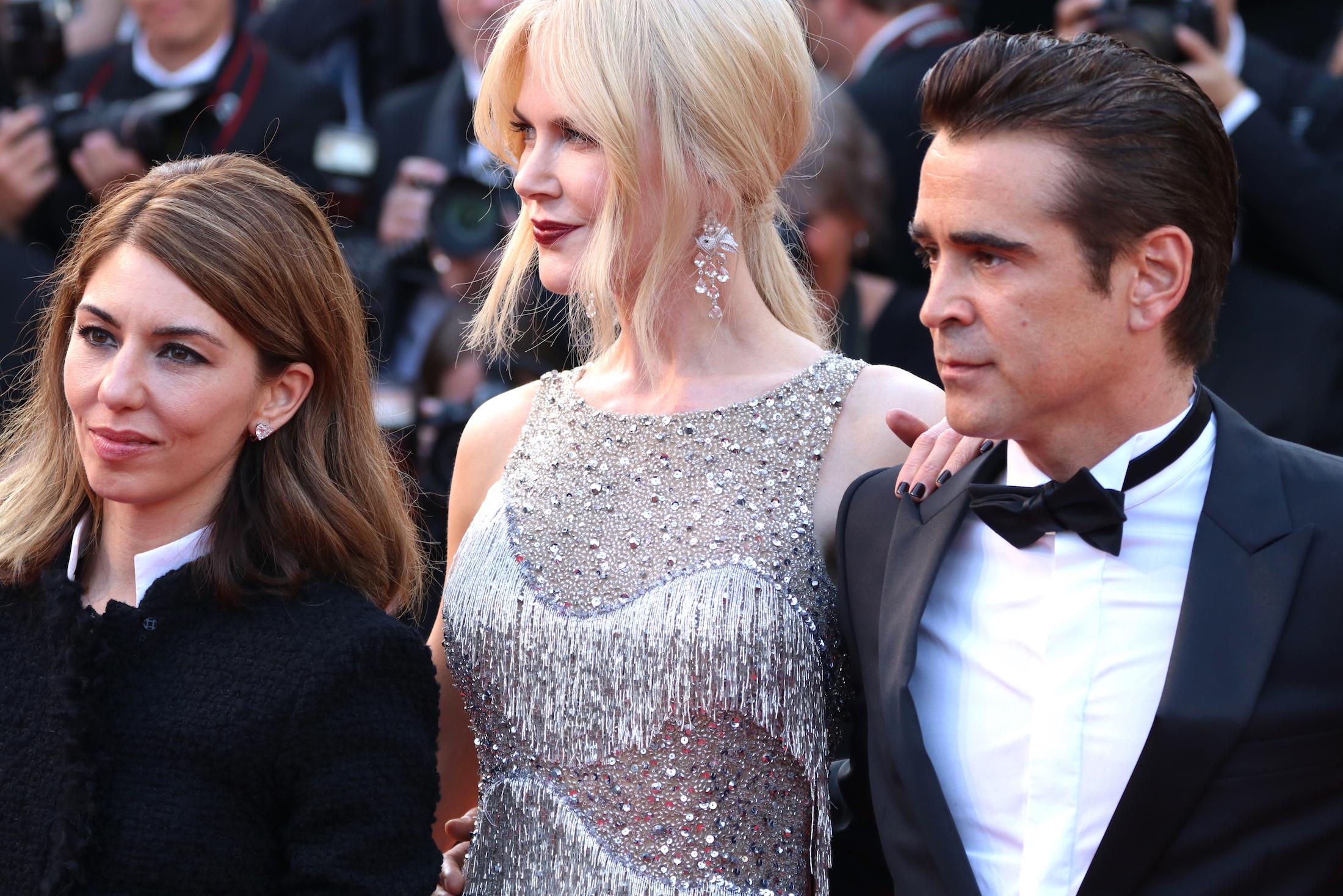 Cannes 2017: Colin Farrel, Nicole Kidman e Sofia Coppola sul red carpet de L'inganno