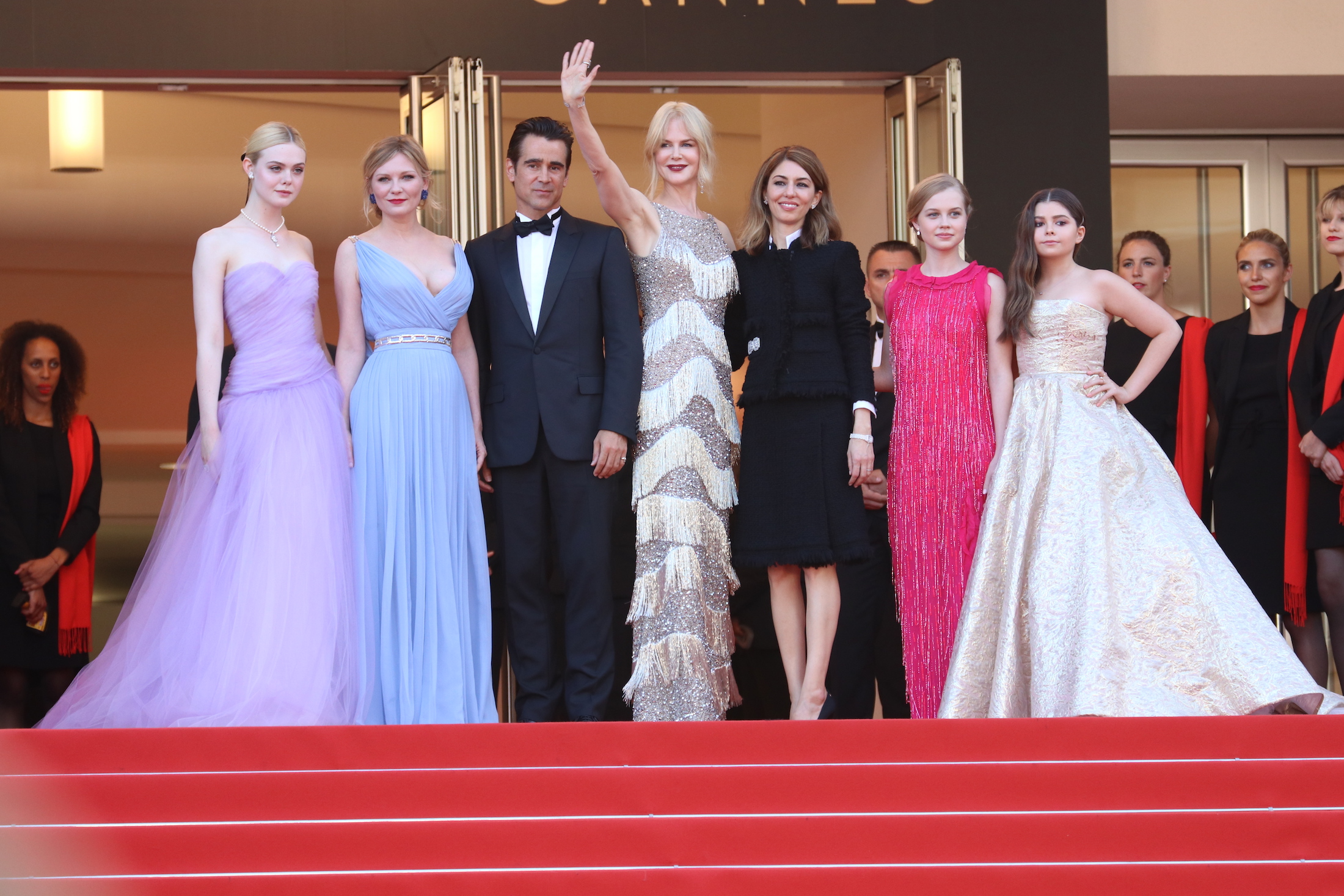 Cannes 2017: il cast sul red carpet de L'inganno