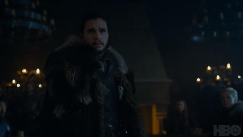 Il Trono di Spade 7: Kit Harington in una scena del trailer