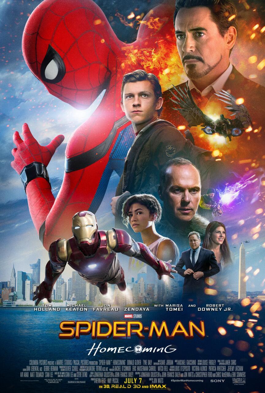 Spider-Man: Homecoming, un poster internazionale del film
