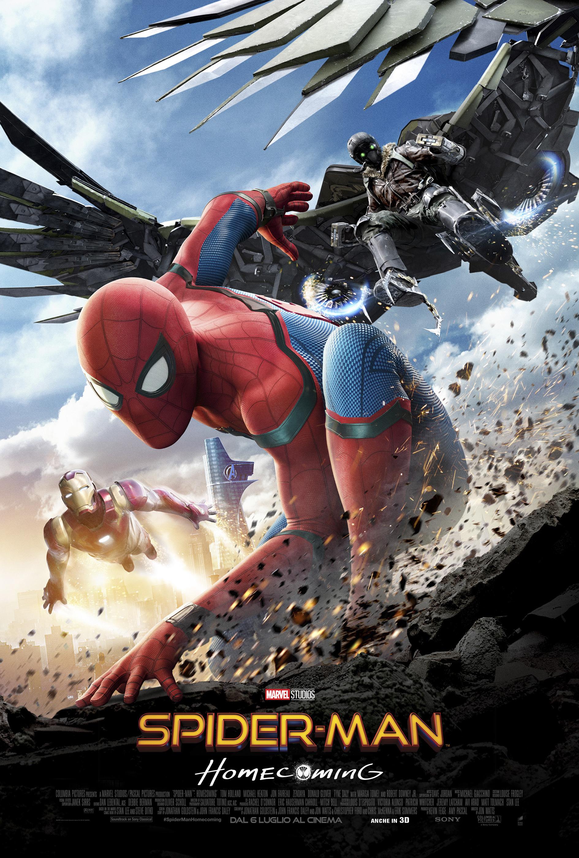 Spider-Man: Homecoming, un nuovo poster del film
