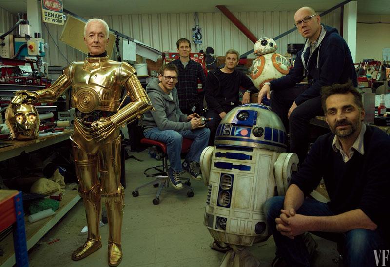 Star Wars: Gli ultimi Jedi - Una foto di Vanity Fair scattata sul set
