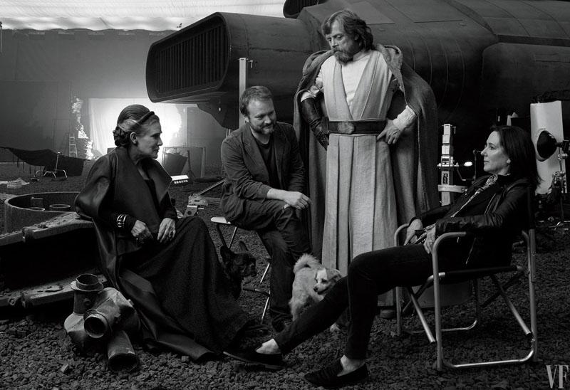 Star Wars: Gli ultimi Jedi - Una foto scattata sul set