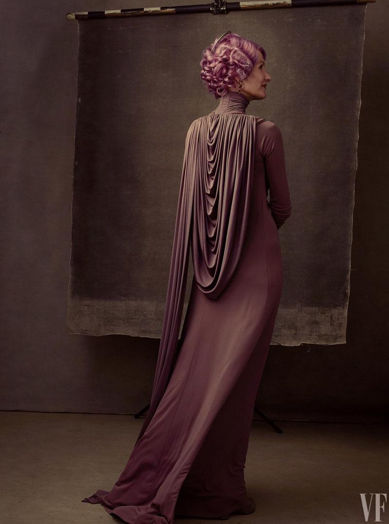 Star Wars: Gli ultimi Jedi - Laura Dern in una foto di Vanity Fair