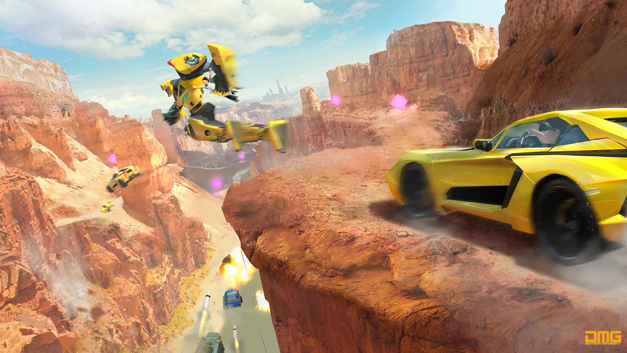 Transformers: un'immagine dell'esperienza virtuale
