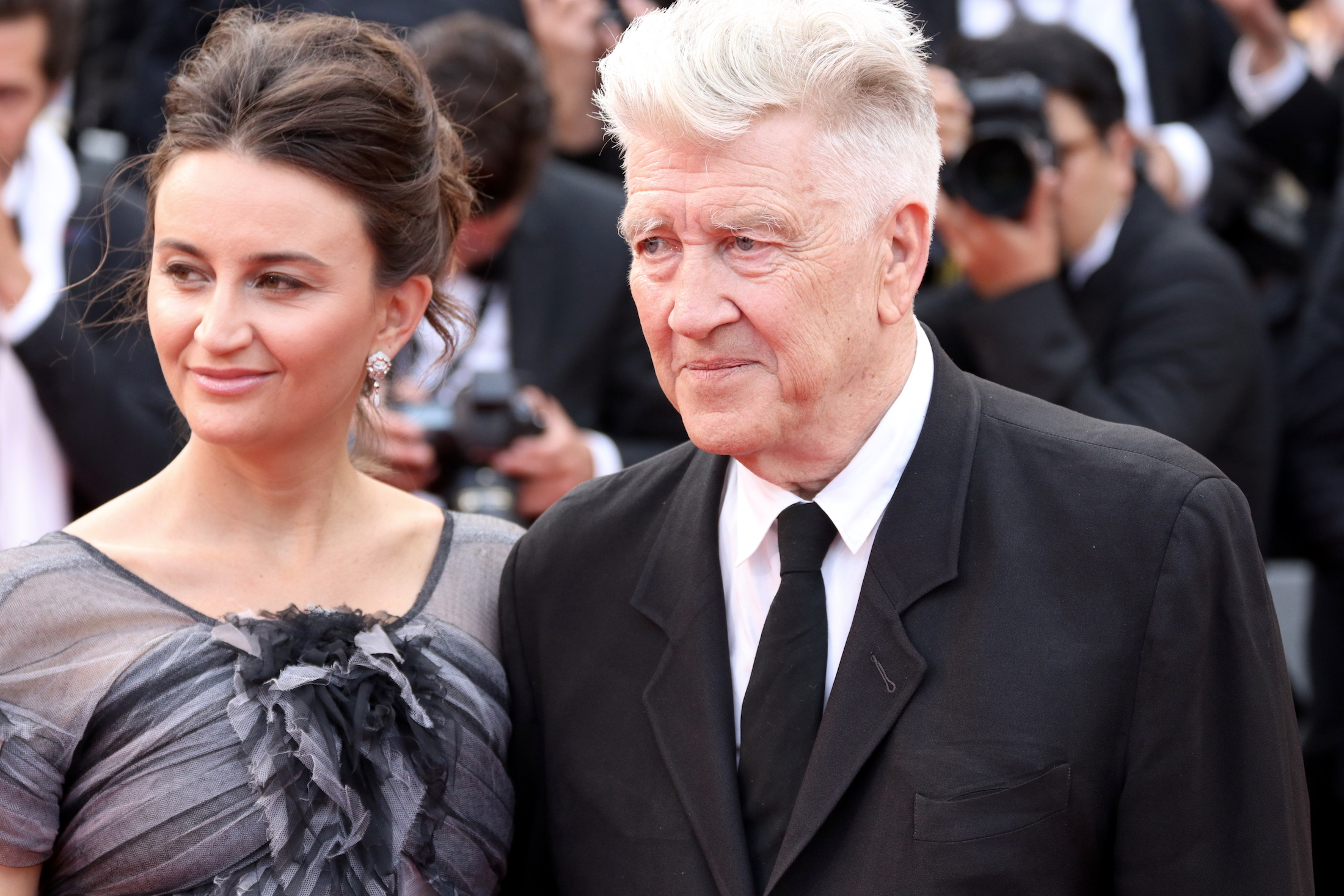 Cannes 2017: David Lynch sul red carpet di Twin Peaks