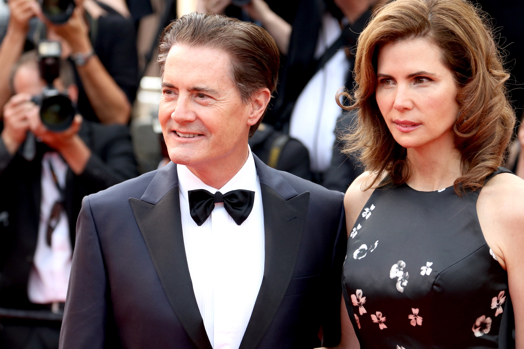 Cannes 2017: uno scatto di Kyle MacLachlan sul red carpet di Twin Peaks