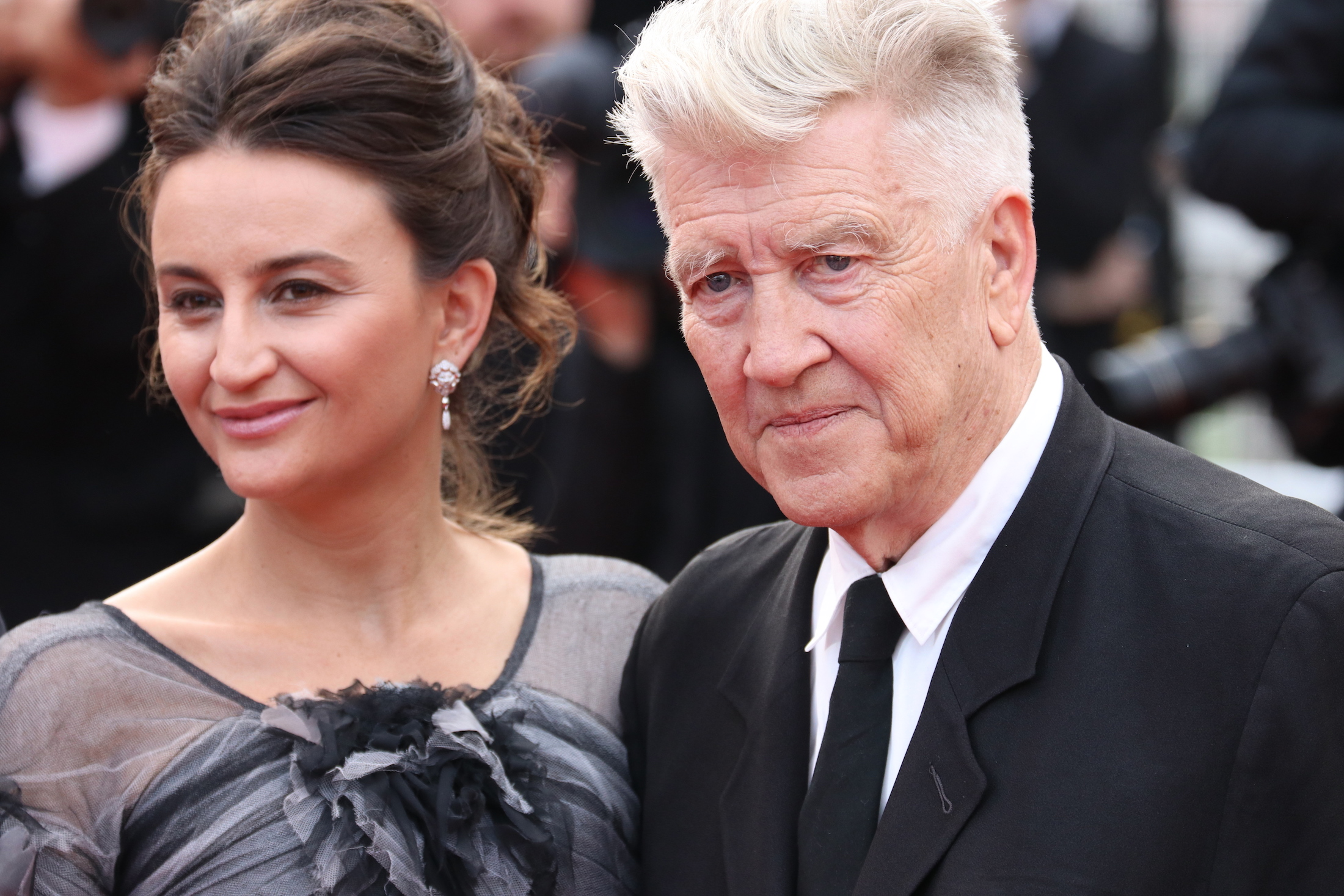 Cannes 2017: uno scatto di David Lynch sul red carpet di Twin Peaks
