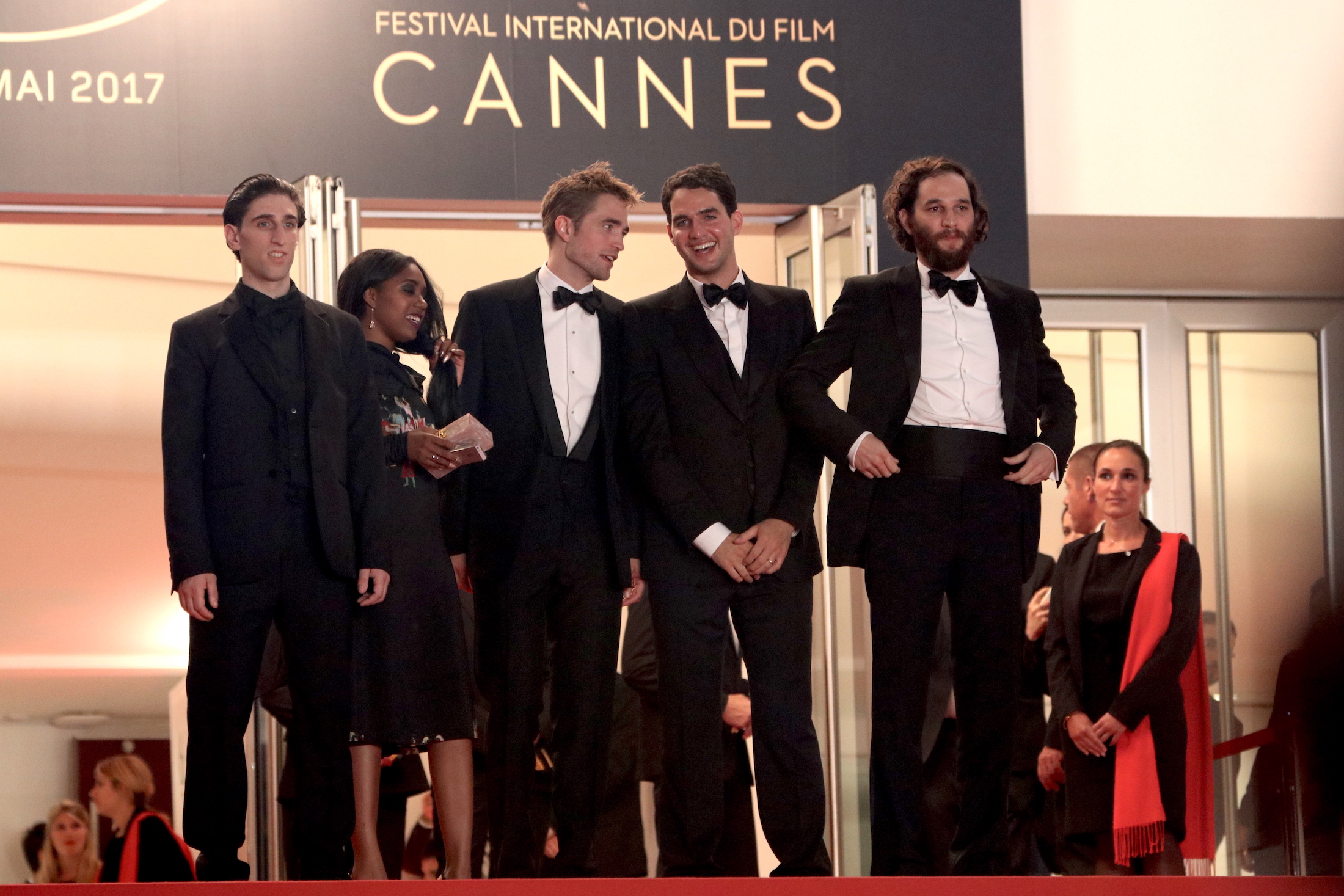 Cannes 2017: il cast sul red carpet di Good Time
