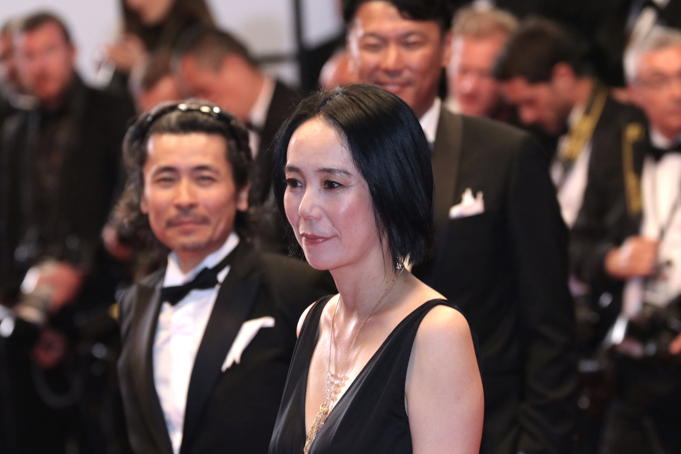 Cannes 2017: Naomi Kawase sul red carpet di In the Fade