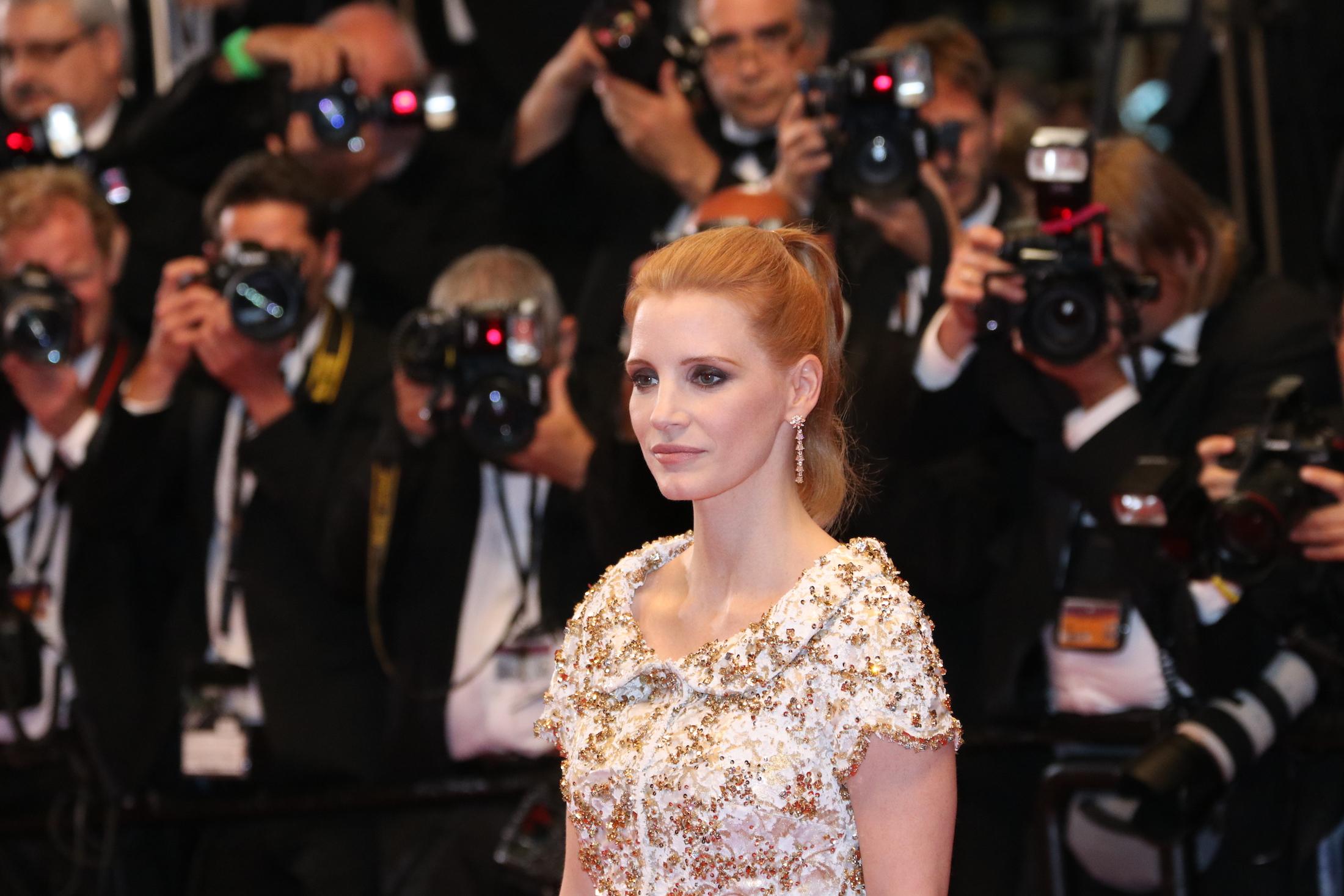 Cannes 2017: Jessica Chastain sul red carpet di In the Fade