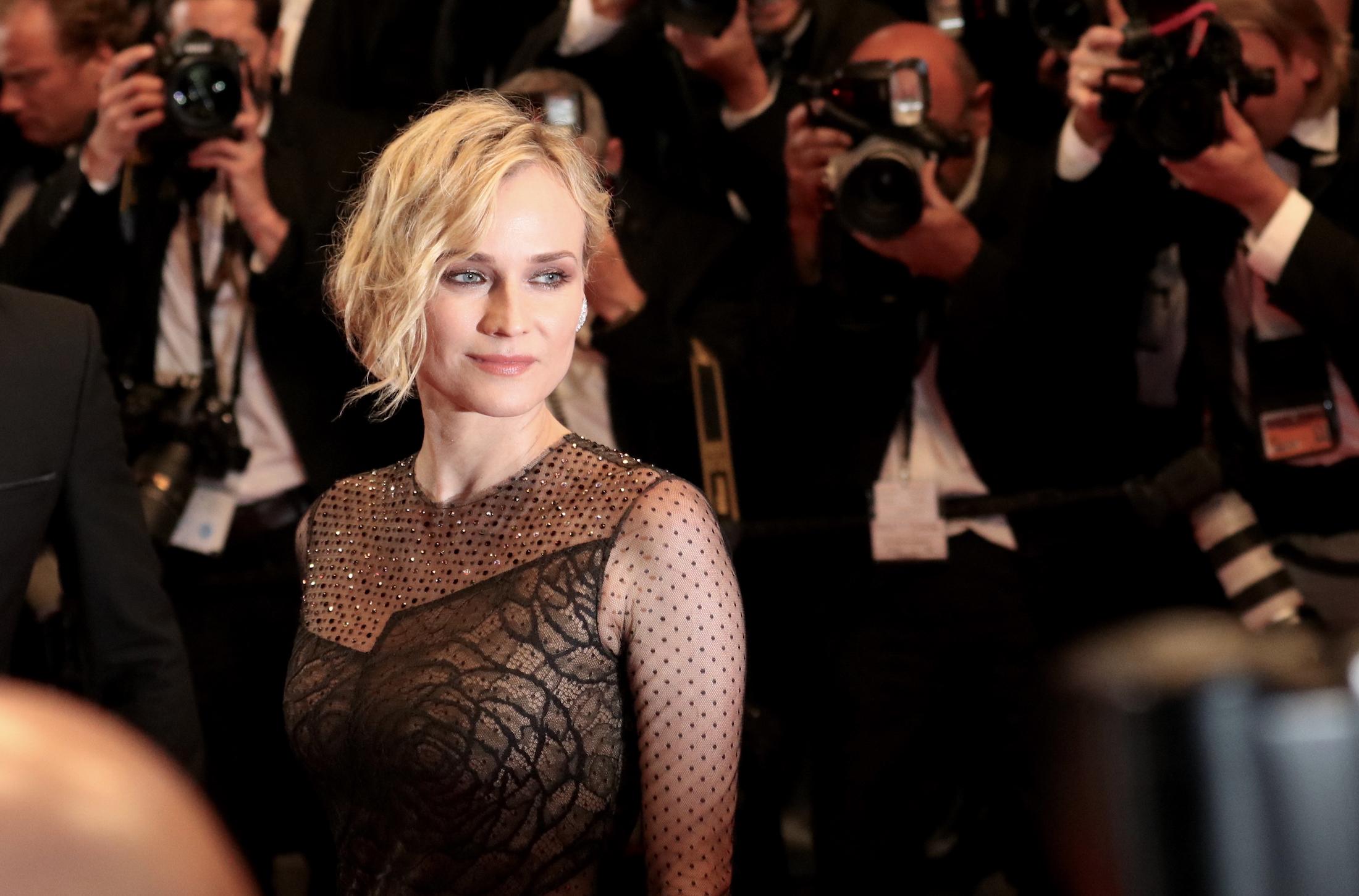 Cannes 2017: la bellissima Diane Kruger sul red carpet di In the Fade