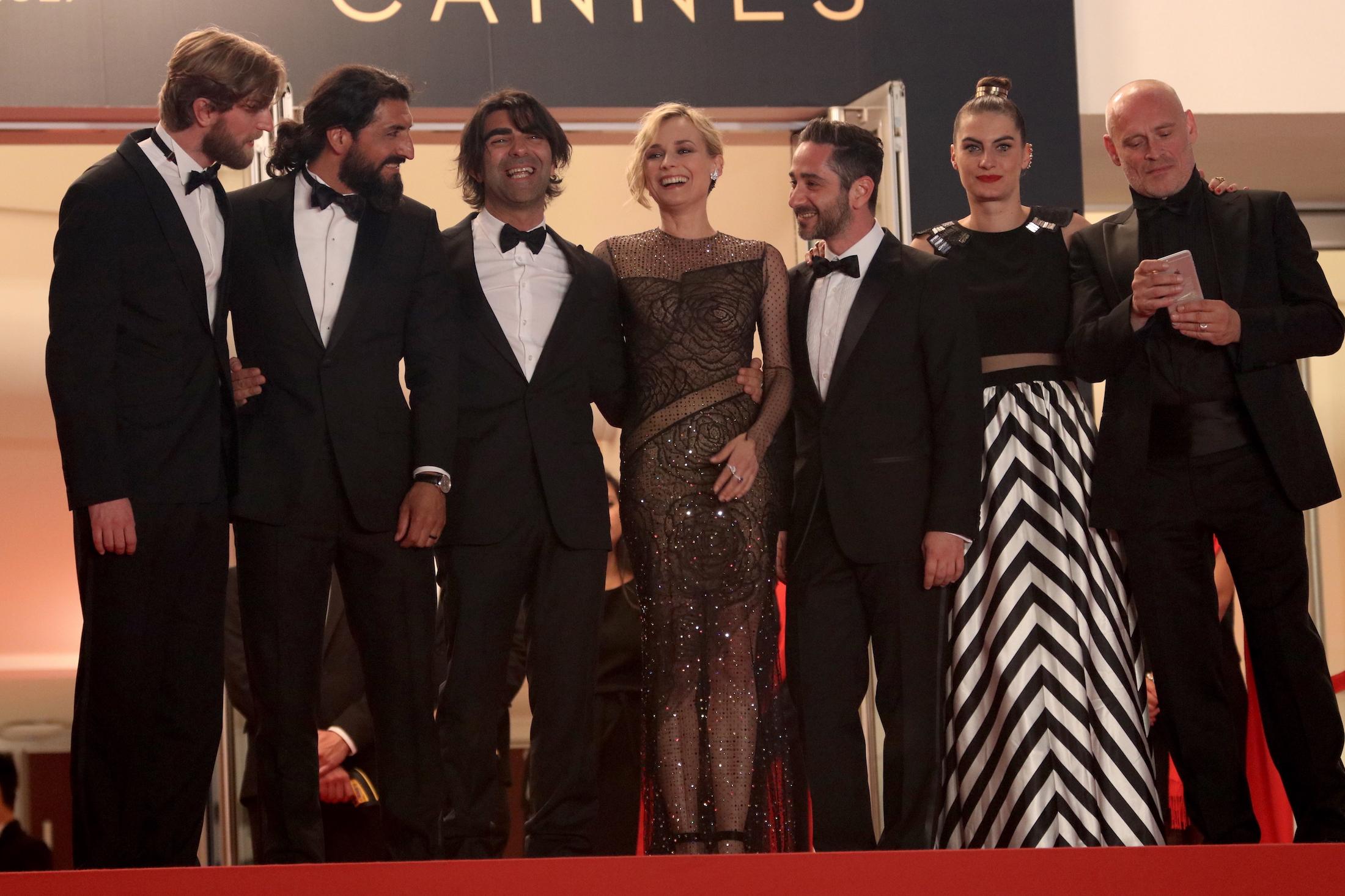 Cannes 2017: il cast sul red carpet di In the Fade