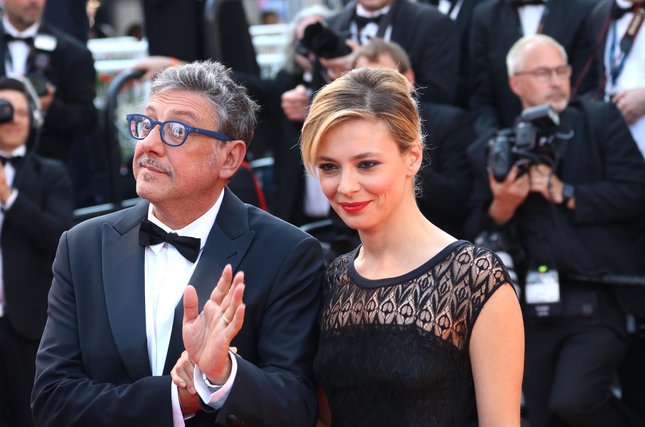 Cannes 2017: Sergio Castellitto e Jasmine Trinca sul red carpet di Based on a True Story