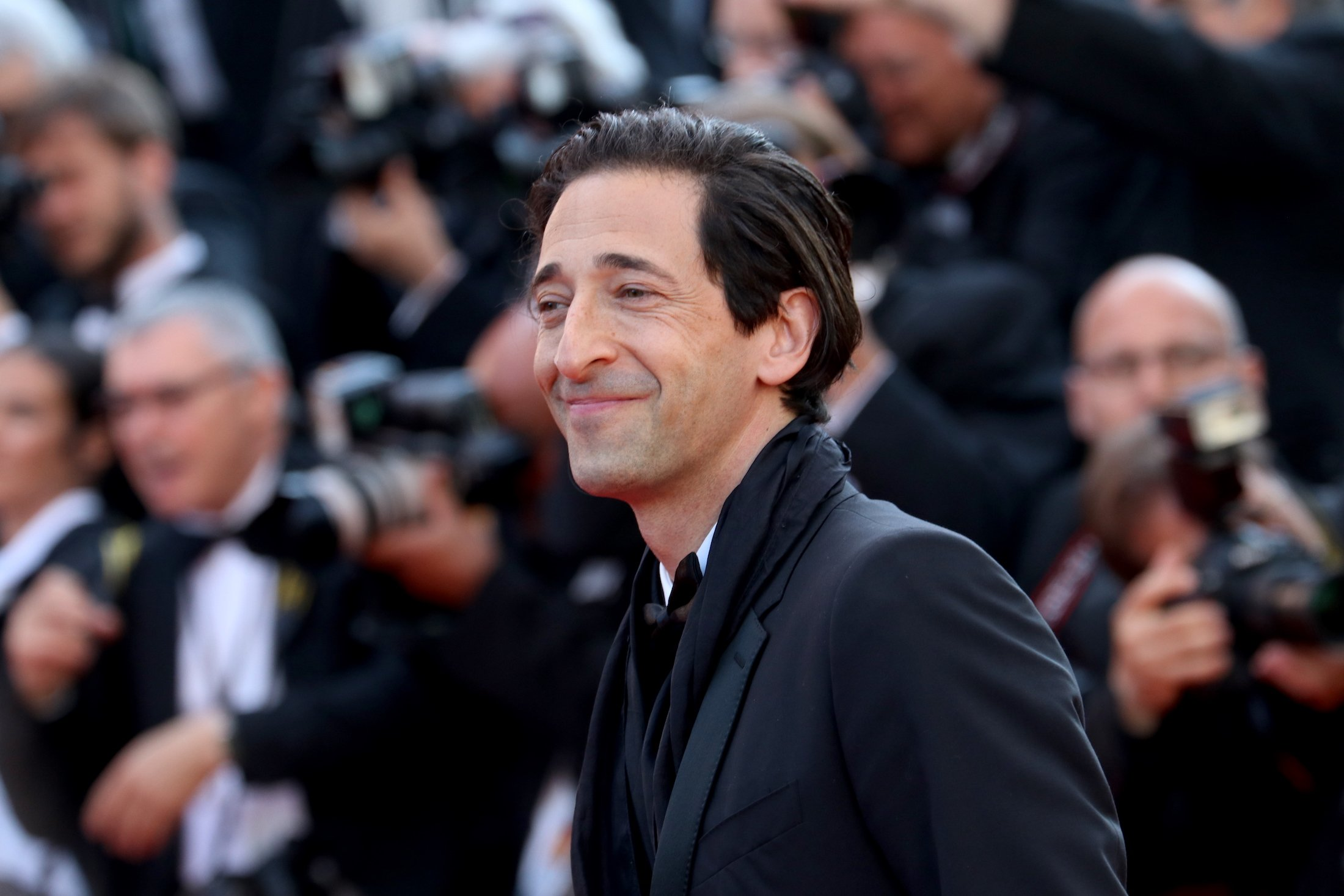 Cannes 2017: Adrien Brody sul red carpet di Based on a True Story