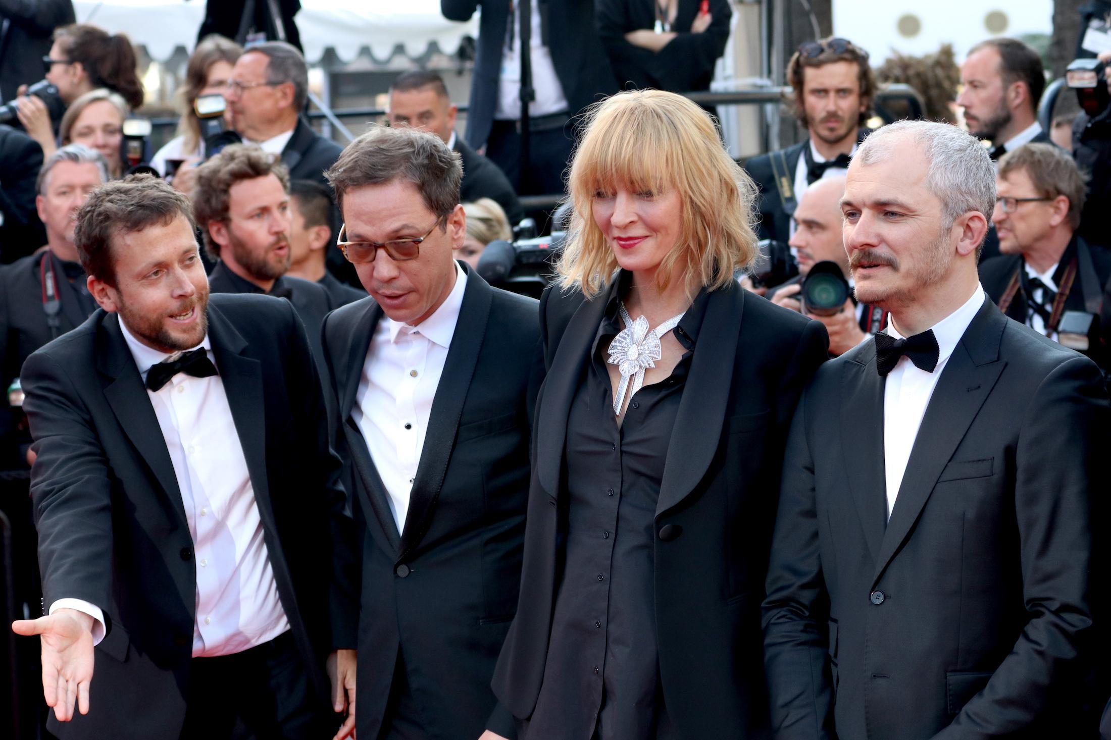 Cannes 2017: La giuria dell'Uncertain Regard sul red carpet di Based on a True Story