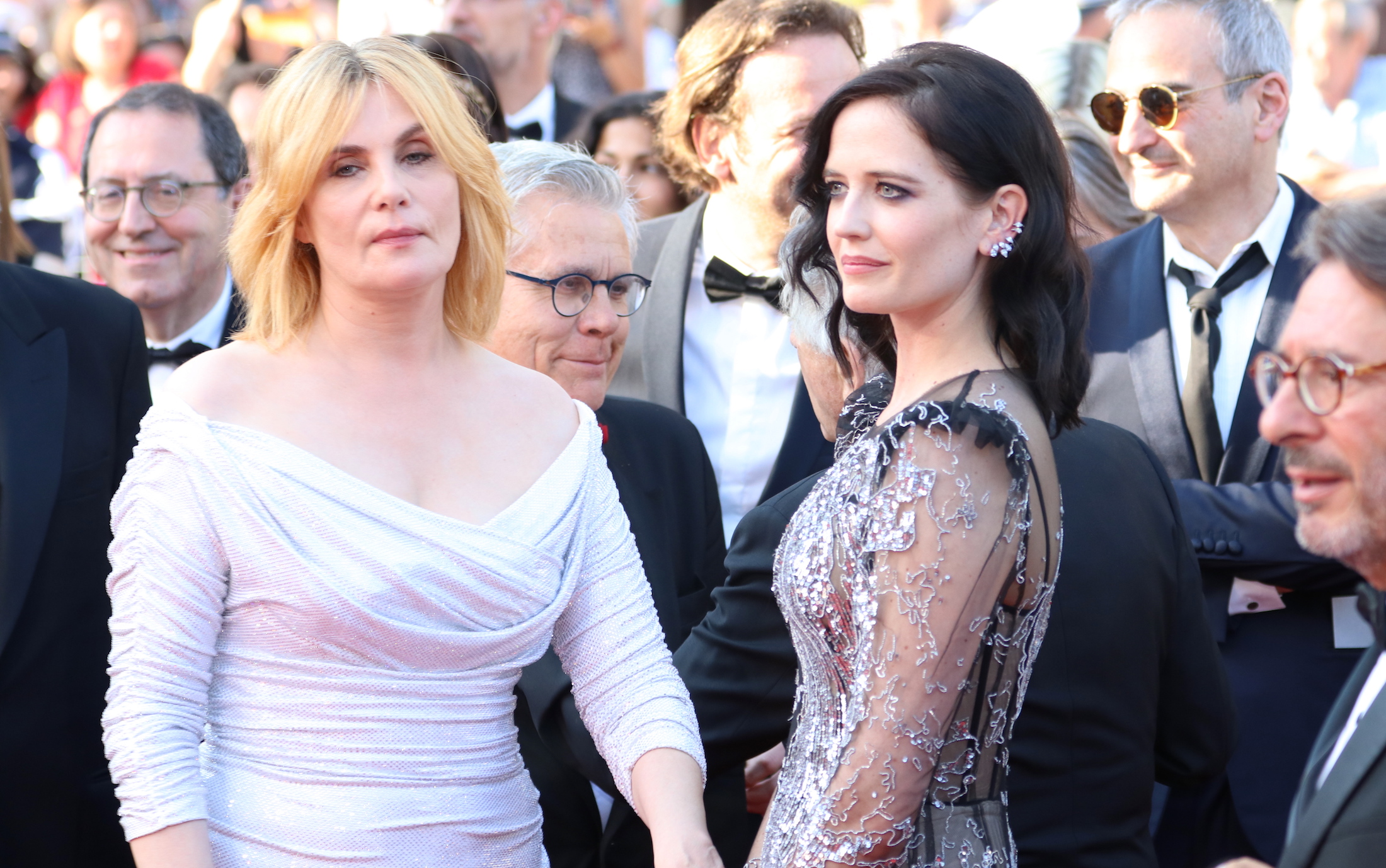 Cannes 2017: Emmanuelle Seigner ed Eva Green sul red carpet di Based on a True Story
