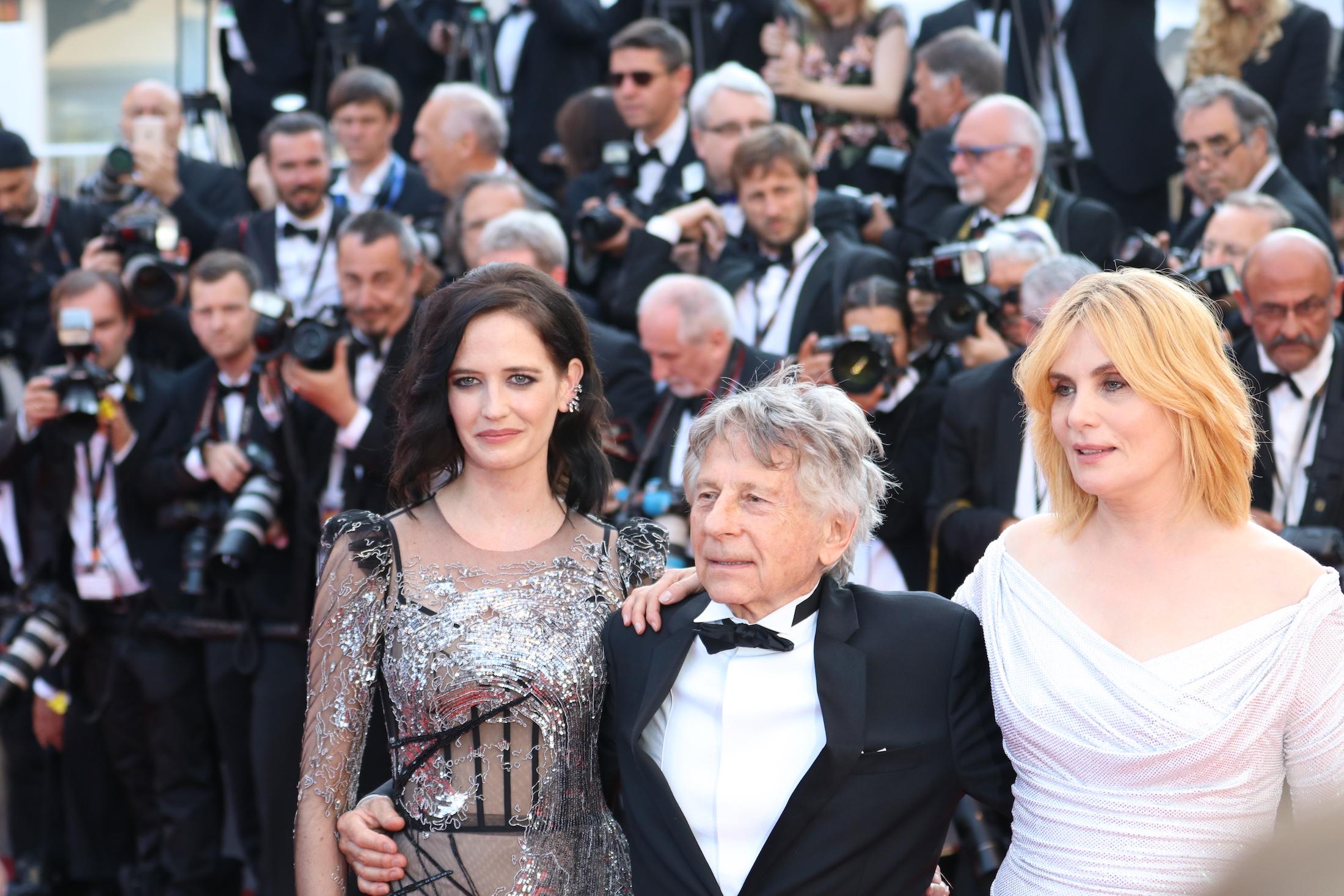 Cannes 2017: il cast mentre posa sul red carpet di Based on a True Story
