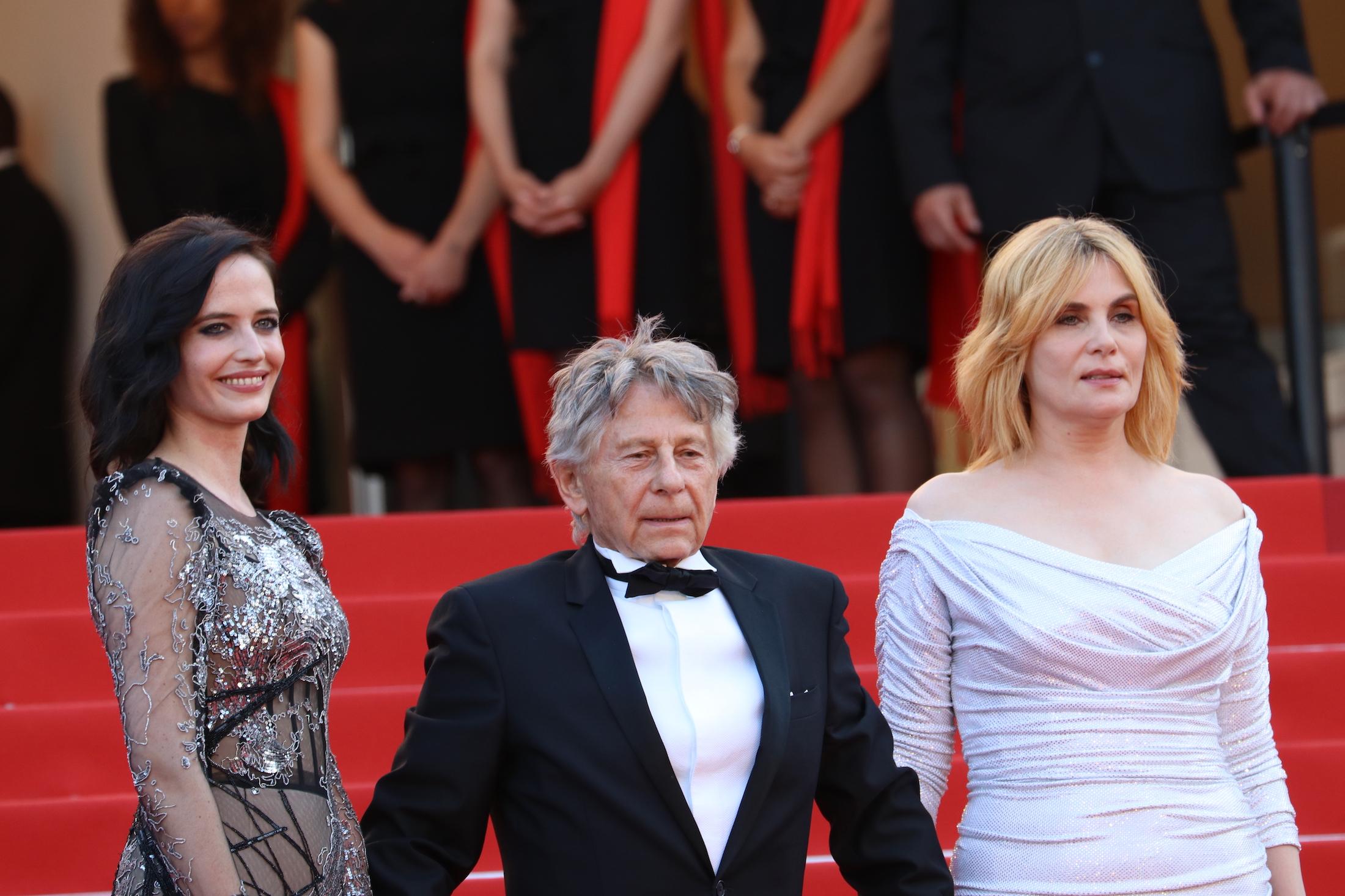 Cannes 2017: Roman Polanski, Eva Green, Emmanuelle Seigner sul red carpet di Based on a True Story