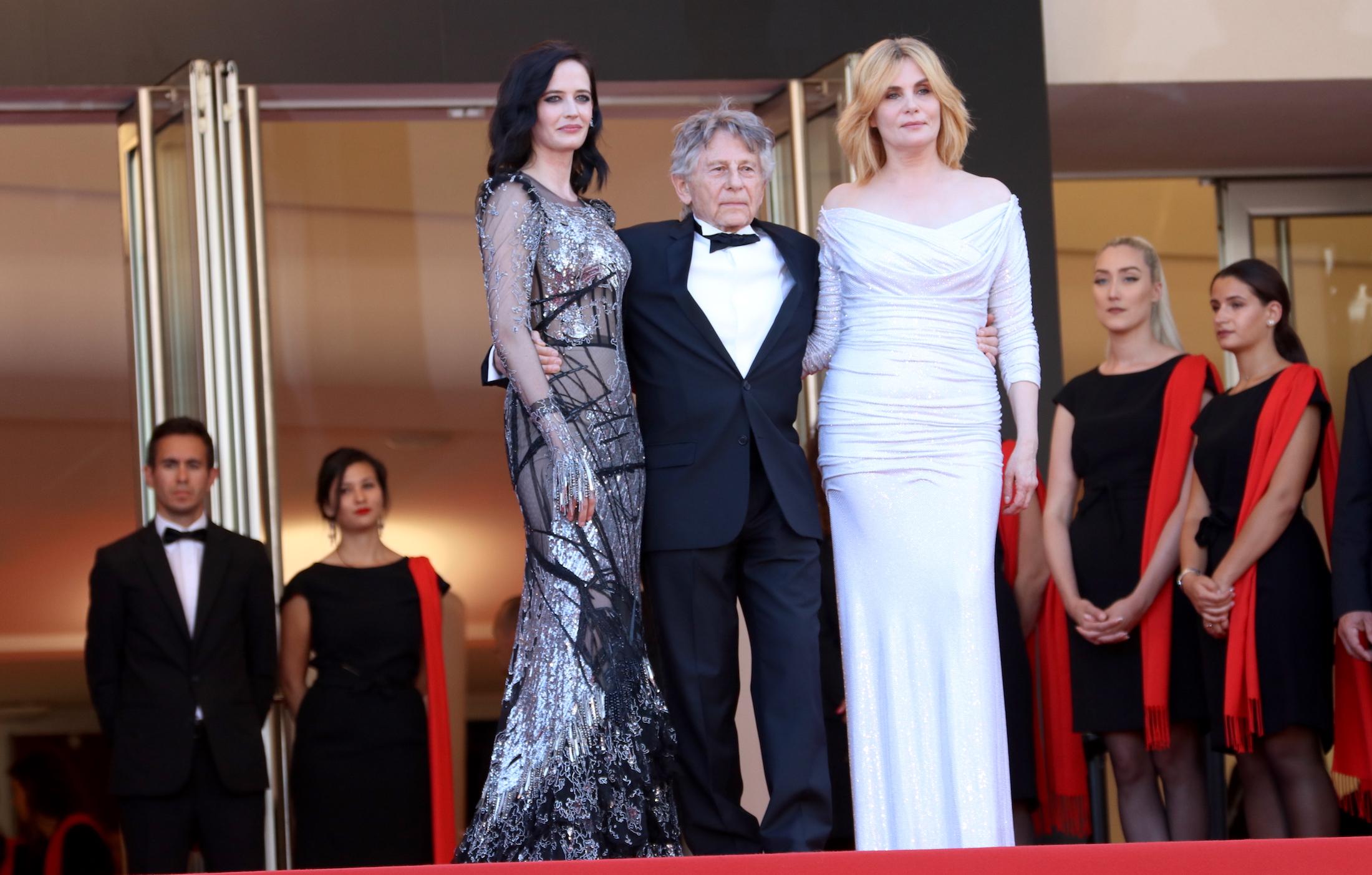 Cannes 2017: Eva Green, Emmanuelle Seigner e Roman Polanski sul red carpet di Based on a True Story