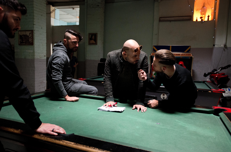 Gomorra 3: Marco D'Amore in una foto  dal set