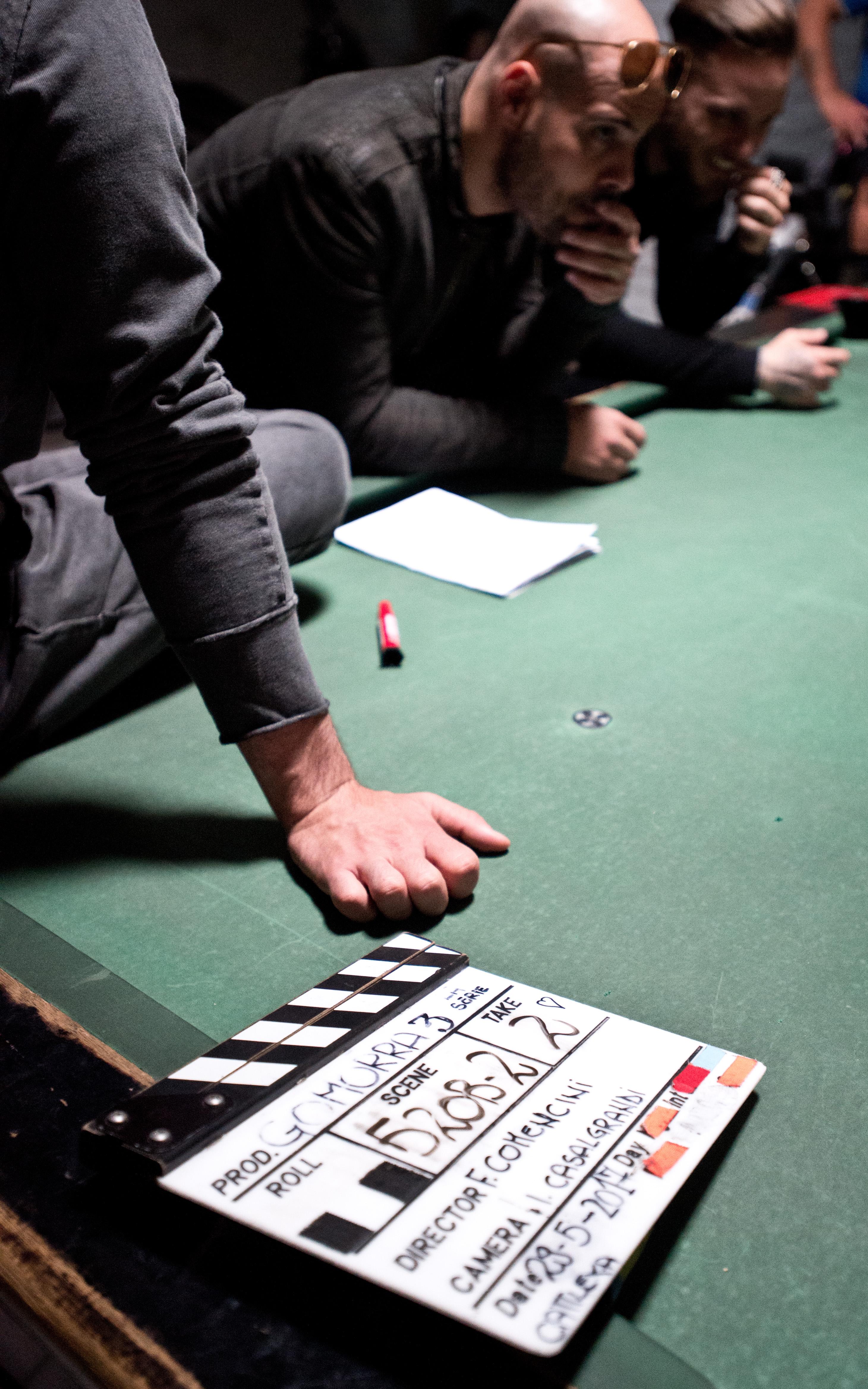 Gomorra 3: una immagine ufficiale dal set