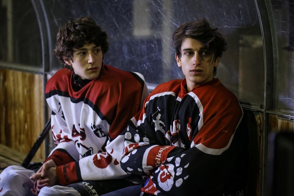 I figli della notte: Vincenzo Crea e Ludovico Succio in una scena del film