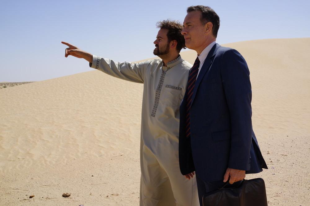 Aspettando il Re: Tom Hanks e Alexander Black in un momento del film