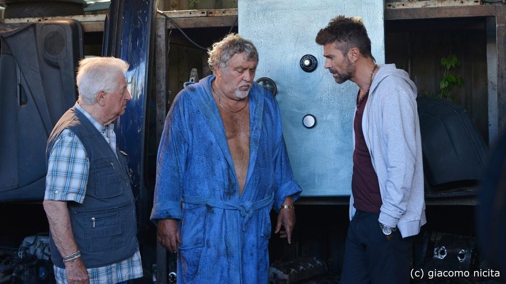 Il crimine non va in pensione: Gianfranco D'Angelo, Maurizio Mattioli e Fabio Fulco in una scena del film