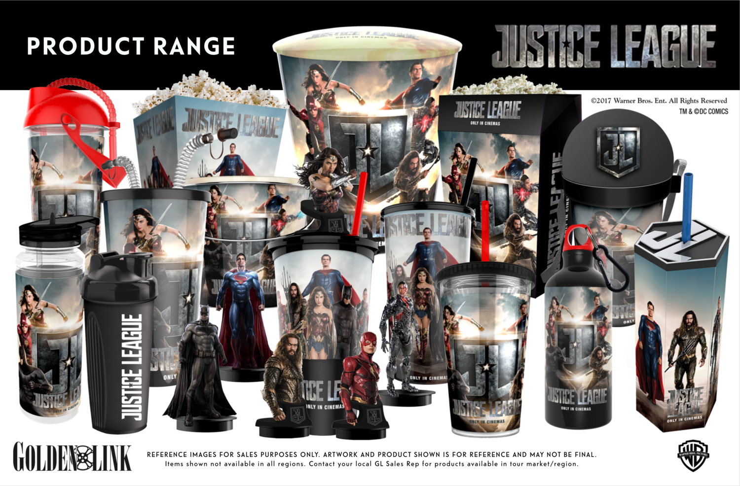Justice League: il merchandise legato al film