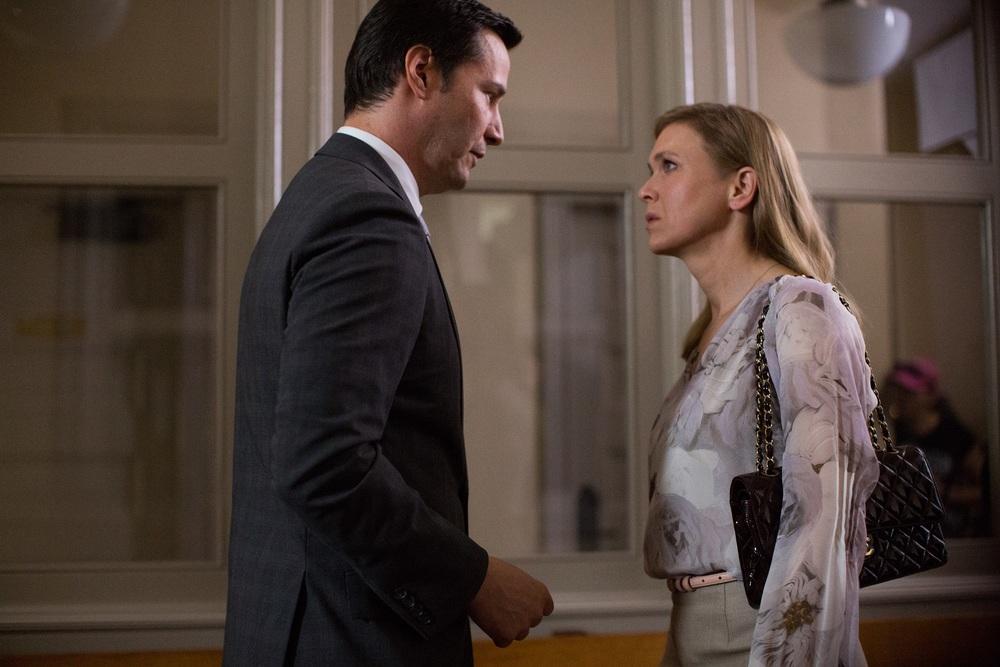 Una doppia verità: Keanu Reeves e Renée Zellweger in una scena del film