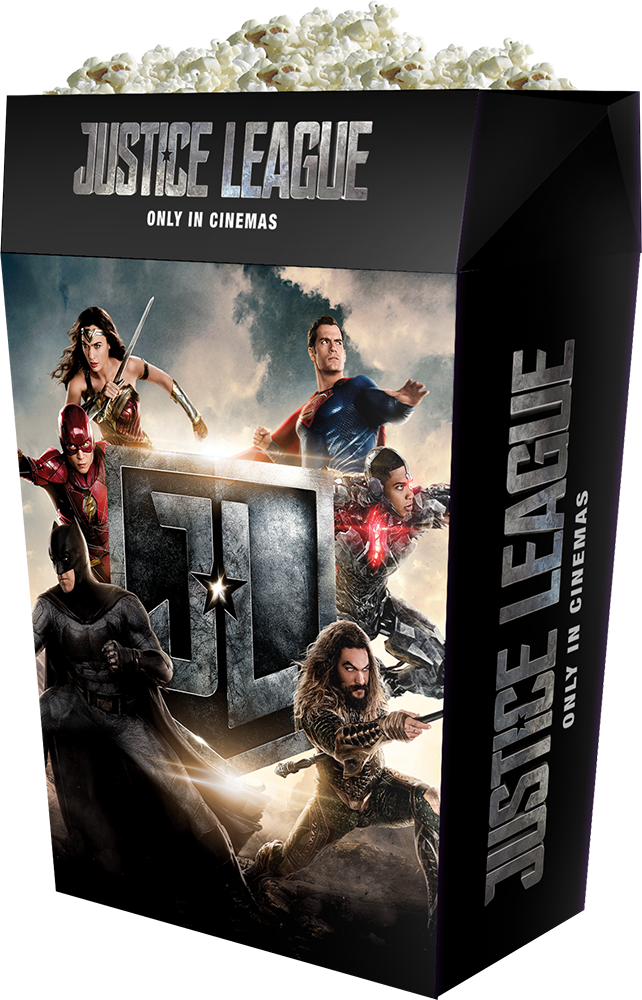 Justice League: il merchandise legato al film
