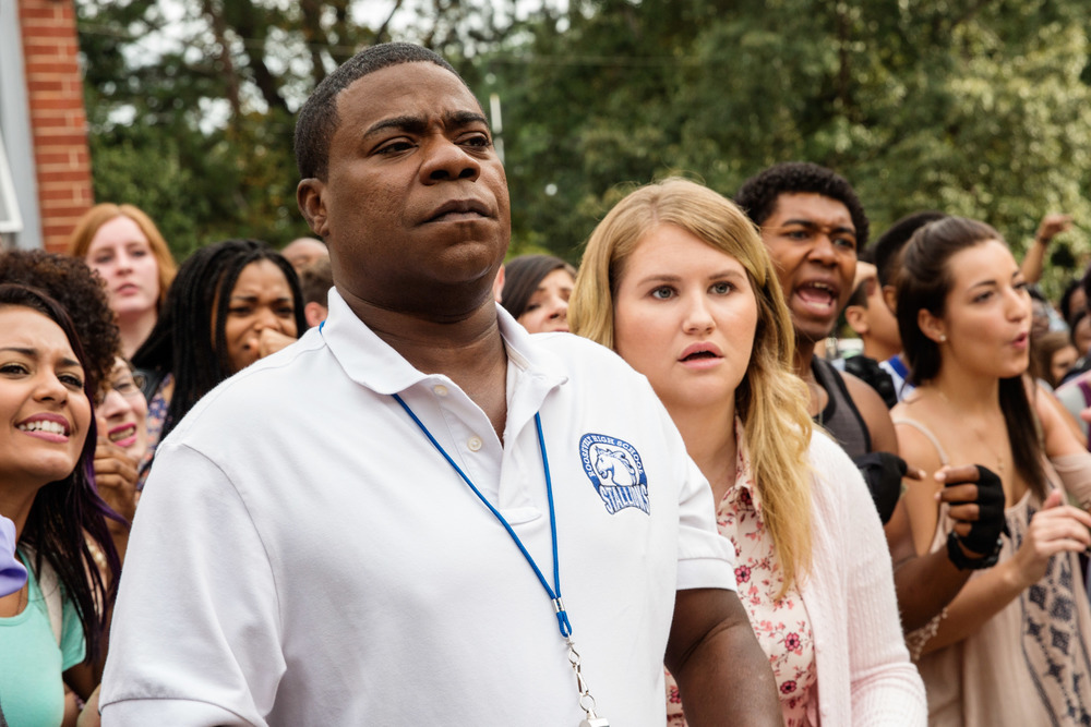 Botte da prof.: Tracy Morgan e Jillian Bell in una scena del film