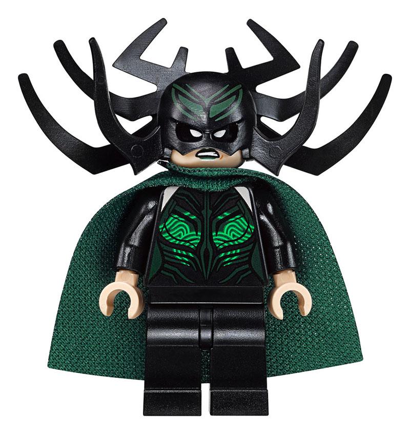 Thor: Ragnarok, una minifigure del set LEGO